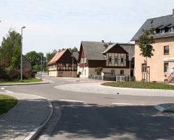 Kreisverkehr Jahnsdorf